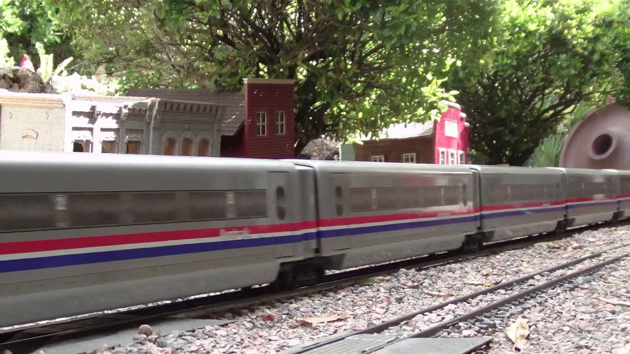 G Scale Trains Running at H & R Trains