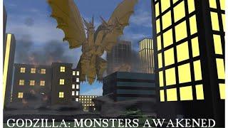 Roblox Ep.50 Godzilla: Monstres réveilléred