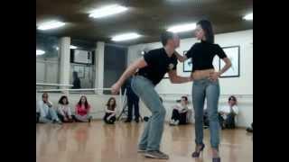2012-07-15 - Bruno e Rúbia (Curso de Condução Masculina de Zouk)