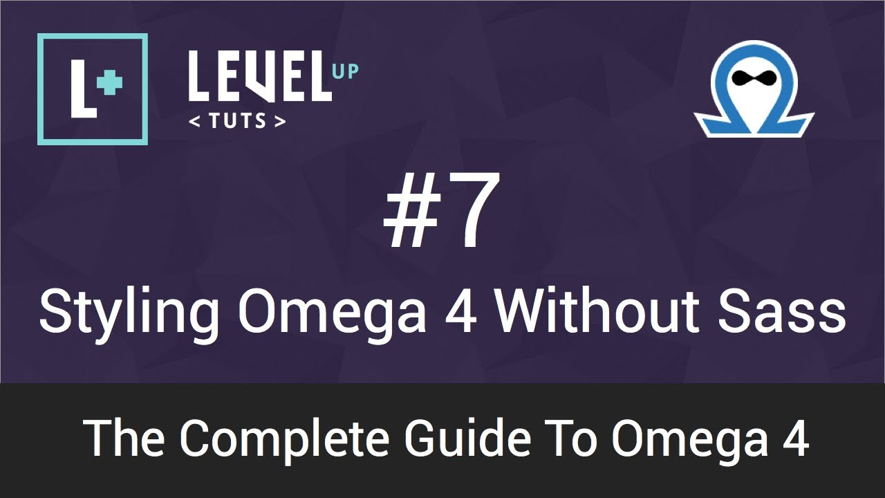 Drupal tutorials the complete guide to omega 4 #11 sass.