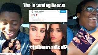 The Incoming Reacts to THE CAMREN KISS!