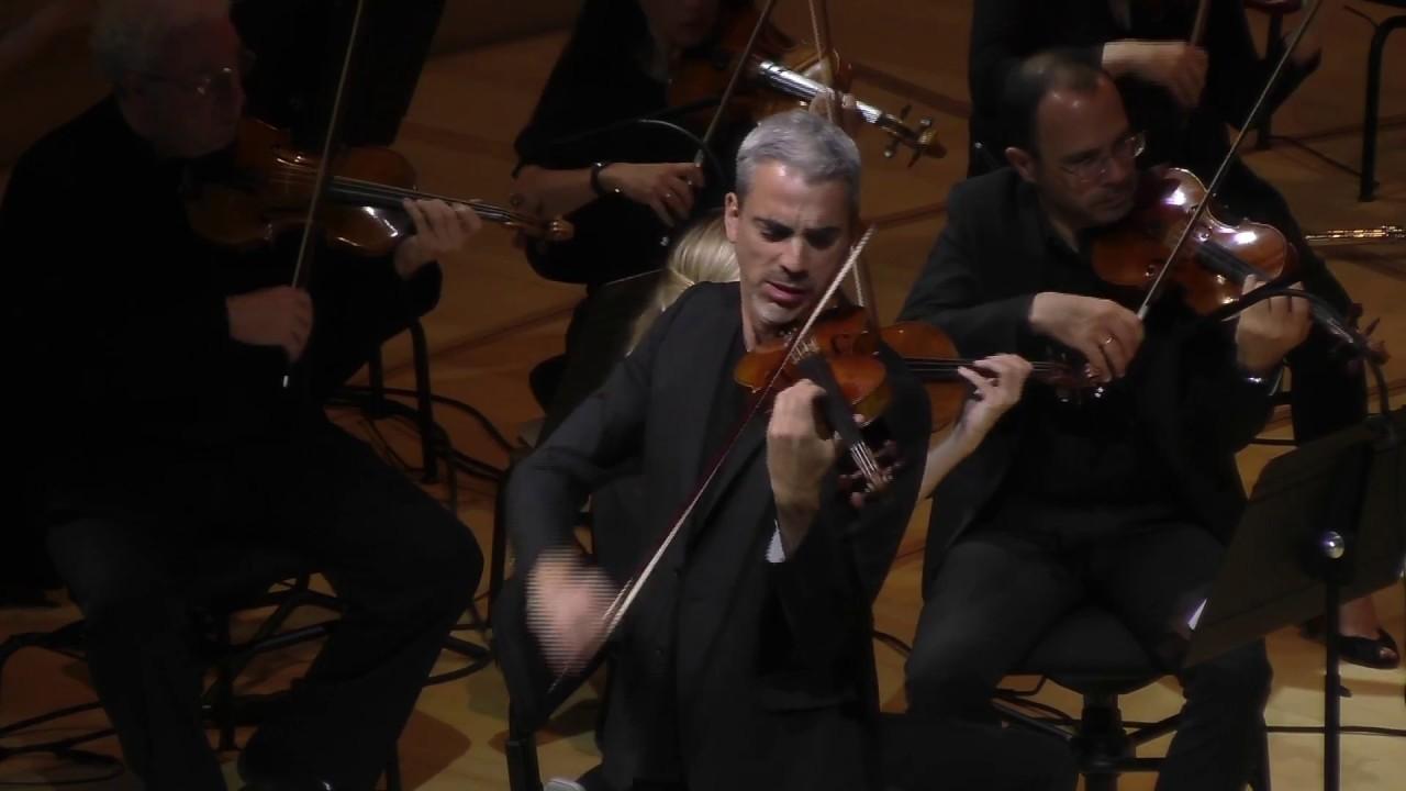 Sébastien Surel - Beethoven violin concerto - Allegro ma non troppo - Live @ La Seine Musicale