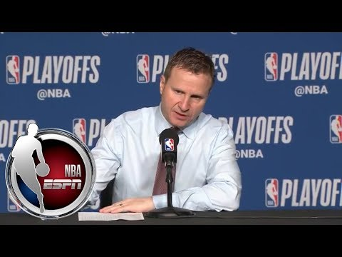 [FULL] Scott Brooks after DeMar DeRozan's 37 points: 'A great player making plays' | NBA on ESPN