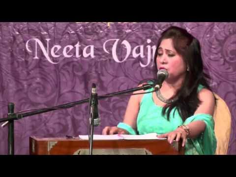 Aur Kya Ahede Wafa Hote Hai by Devyani Majumdar @ Ru-Ba-Ru - Live performance