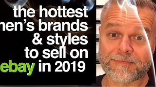 What to Sell on eBay ~ BEST Men