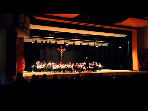 Amazing Grace by Bishop McDevitt Middle School Combined Band