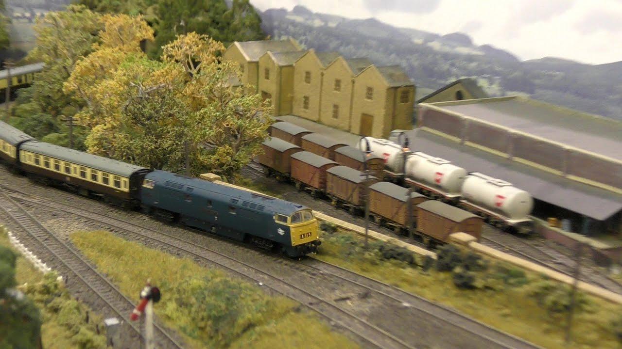 East Anglian Model Railway Exhibition 2017 part 1 N gauge layouts