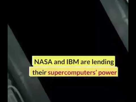 Download NASA & IBM are lending their supercomputers on working to develop Vaccine against COVID-19