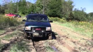 GMC safari off roading