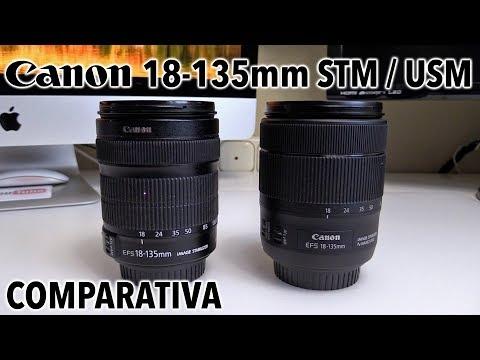 Canon EF-S 18-135mm USM Vs STM | Comparativa