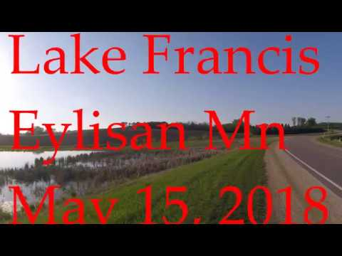 Shore Fishing For Bass Lake Francis MN, Officially Tick Season....