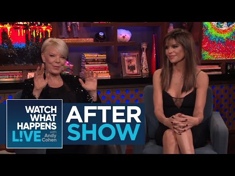 After : Lisa Rinna's Encounter With Brandi Glanville  RHOBH  WWHL