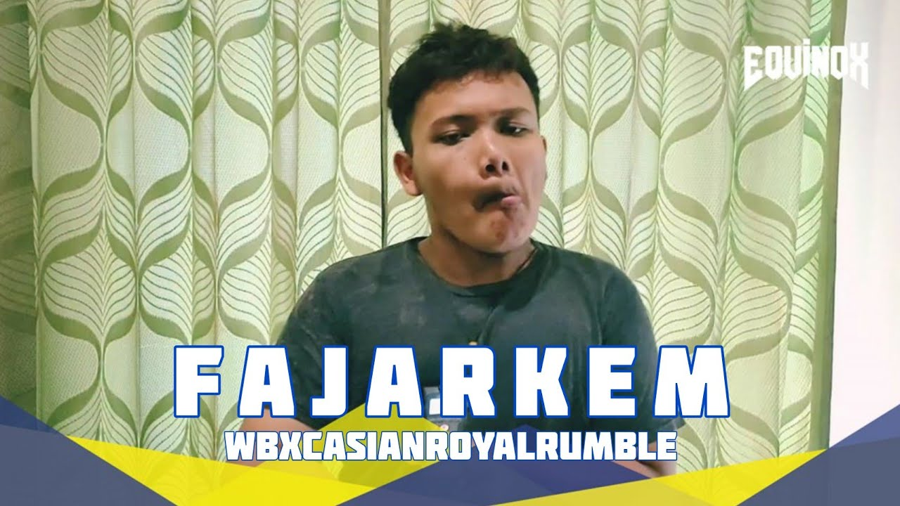 FAJARKEM | ELANG | WBXC ASIAN ROYAL RUMBLE 2020 | #WBXCasianroyalrumble