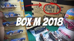 HW Collector Videos Hot Wheels 2018 M Case Unboxing - diecast indonesia