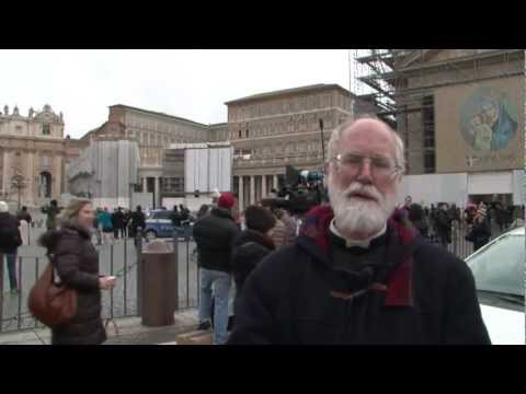 A message from Father Gruner in Rome on the resignation of Pope Benedict XVI