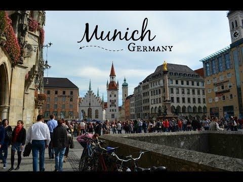 Europe Trip: Last stop - A tour of Munich, Germany! Die letzte Station auf unserer Reise!