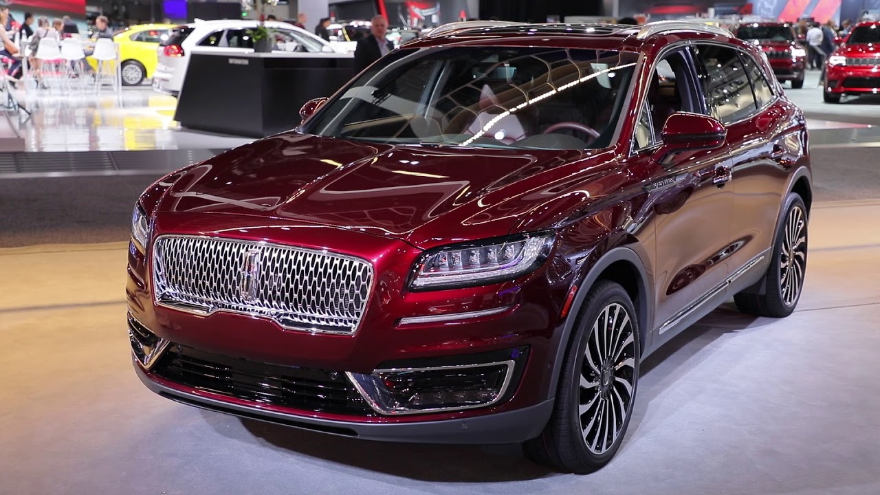 2019 Lincoln Nautilus Video Preview Youtube