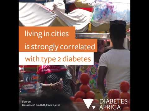 Diabetes and urbanisation in Africa: As cities grow, how do we tackle the diabetes crisis?