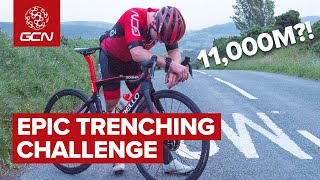 GCN Goes Trenching - 11,000 Meters Of Elevation In One Epic Ride