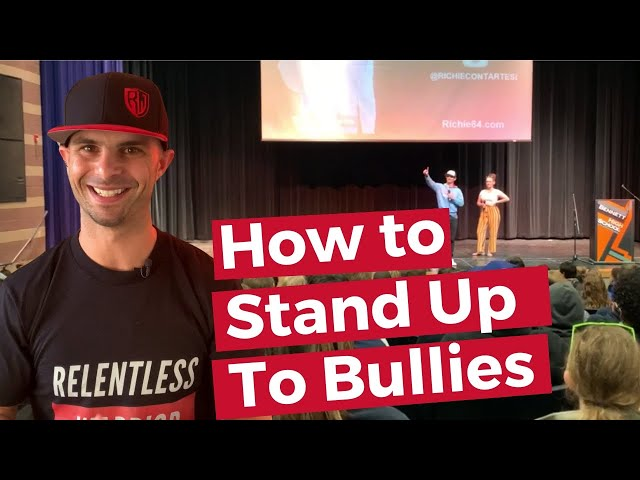 How to Deal With Bullies by Standing Up! (Demonstration)