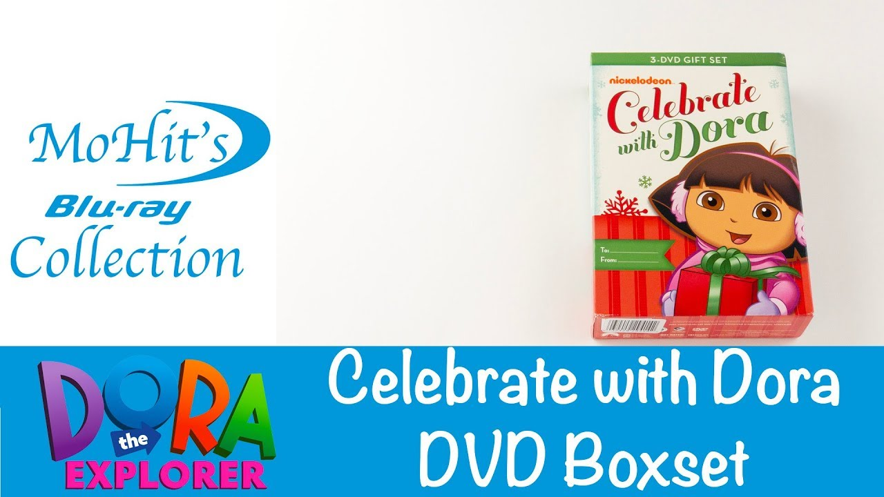 Celebrate with Dora DVD 3 Pack Doras Christmas Doras Halloween