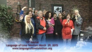 A HUGE SUCCESS! TOGETHER-Language of Love Telethon- WE DID IT!