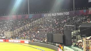 Winning stroke from dhoni india vs australia at pca stadium Mohali