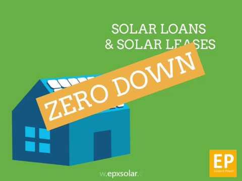 Deciding Between a Solar Loan or a Solar Lease or PPA's?