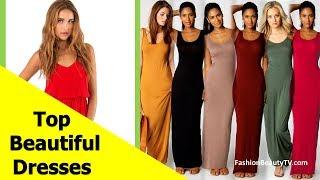 Top 50 beautiful dresses,best prom dresses,cheap best summer dresses for women S2