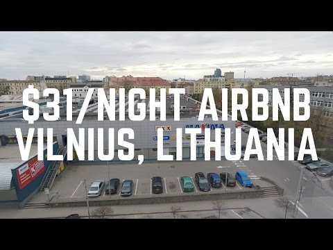My $31 per Night AirBnb in Vilnius, Lithuania
