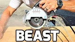 Beast Tile Saw Unboxing Test & Review