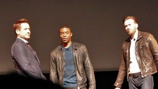 Robert Downey Jr, Chris Evans, Chadwick Boseman appear at Marvel Phase 3 announcement event