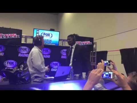 Jameis Winston At Super Bowl Radio Row #SB50