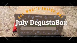 July DegustaBox Unboxing - See What