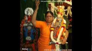 16. Sri Anjaneya Dandakam by MATHAJI -www.sanjeevinipeetam.com.mov