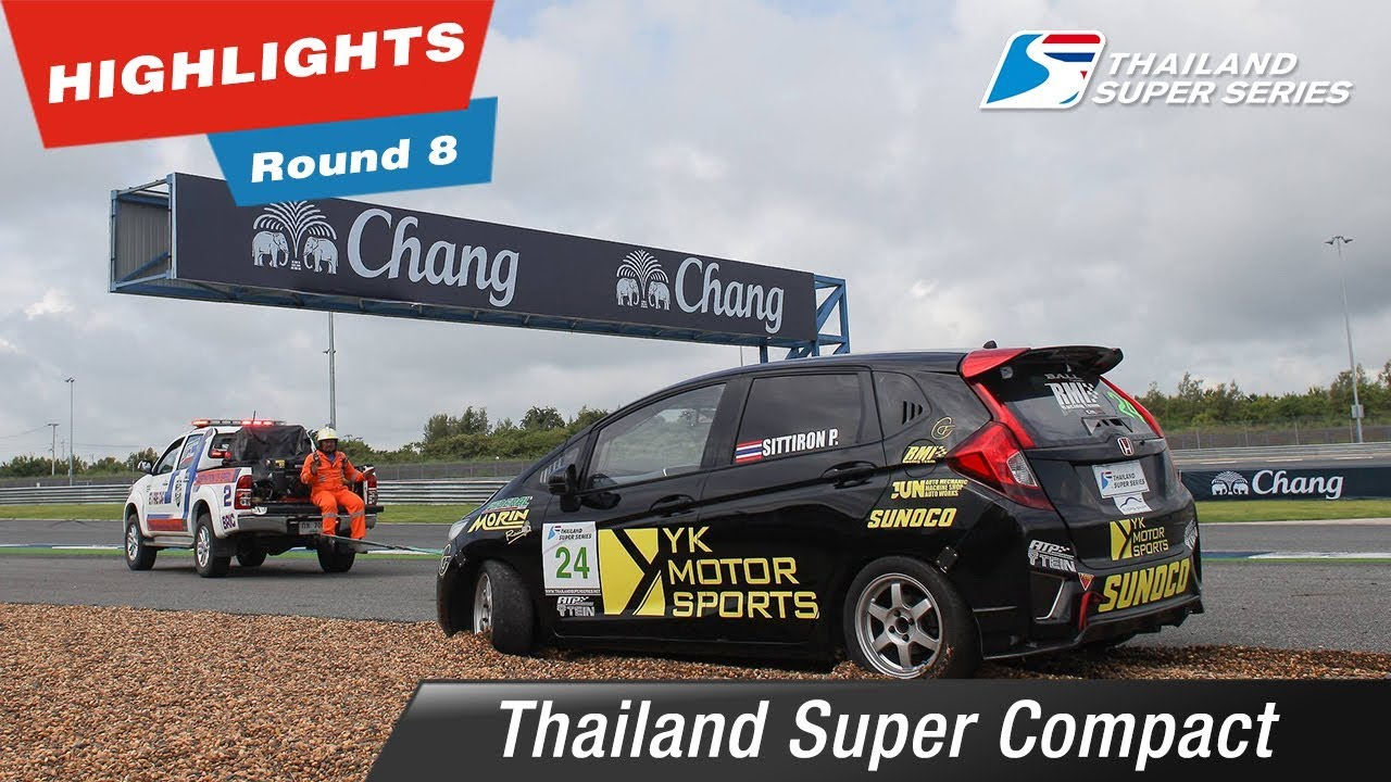Highlights Thailand Super Compact Round 8 @Chang International Circuit Buriram