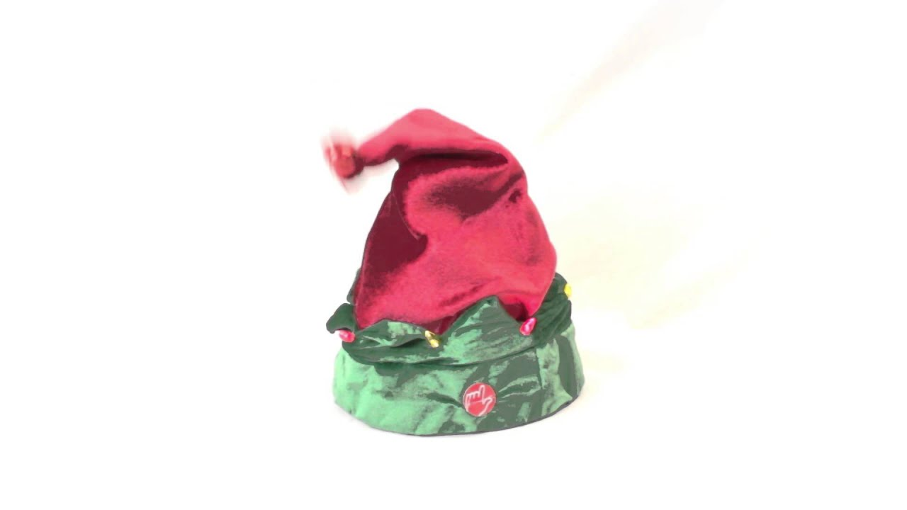 23c4d67f50f1a singing and dancing elf hat - YouTube