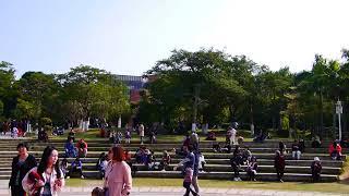 '17 12 09 廈門大學 芙蓉湖 頌恩樓 2