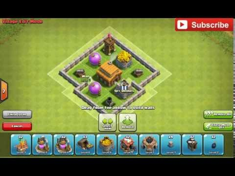 Best Town Hall 3 Base With Defensive Replay (Build 1) - Clash Of Clans