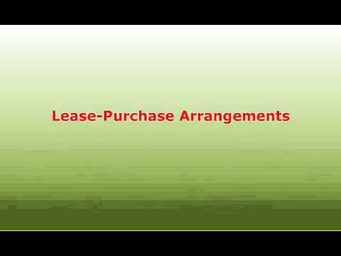 Equipment Leasing, Operating Leases