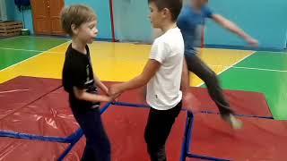 №6 #Рукопашный бой #Занятия Дети 5 неделя подготовки 2017#