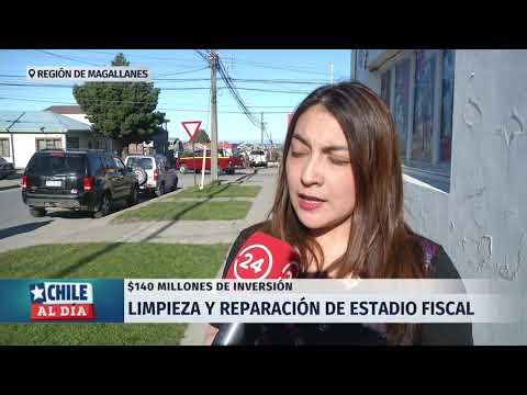 Región de Magallanes: Limpieza y reparación de estadio fiscal
