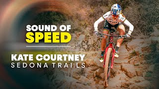 The XC Shark Takes A Bite Out Of The Sedona Trails | Sound Of Speed w/ Kate Courtney