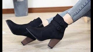 7 Женская Зимняя обувь с Алиэкспресс AliExpress Women's winter boots Крутые вещи из Китая