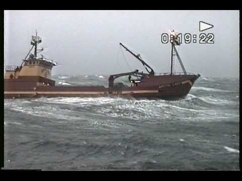 Bering Sea Heavy Weather - Arctic Lady - YouTube