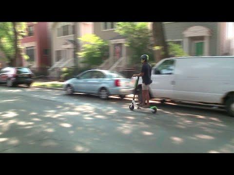 Chicago`s Scooter Pilot Program Begins