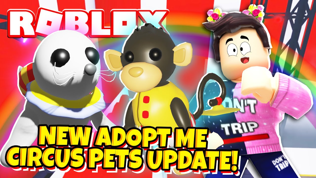 NEW CIRCUS PETS Update in Adopt Me! NEW Adopt Me Circus Pet Egg Coming Soon! (Roblox)