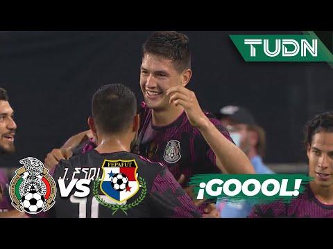 ¡Gol de México! ¡Gol de Montes! | México 2-0 Panamá | Amistoso CONCACAF | TUDN