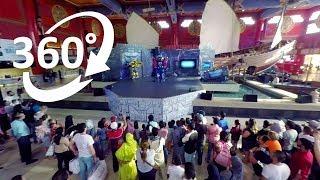 (4K) 360: Transformers Guardians of the Night - Ibn Battuta Mall- Visit Dubai
