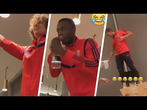 Best Arsenal Initiation Songs - feat  Ceballos, Pepe, Luiz and more
